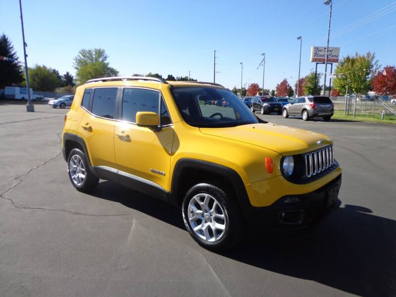 2018 Jeep Renegade for sale at New Deal Used Cars in Spokane Valley WA
