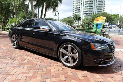 2014 Audi S8 for sale at Choice Auto in Fort Lauderdale FL