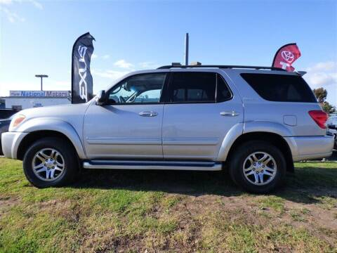 2007 Toyota Sequoia for sale at National Motors in San Diego CA
