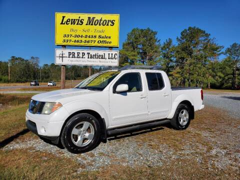 2008 Nissan Frontier for sale at Lewis Motors LLC in Deridder LA
