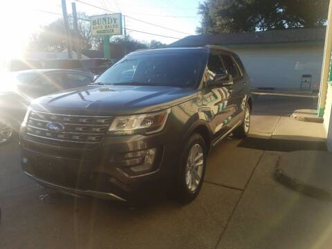2016 Ford Explorer for sale at Bundy Auto Sales in Sumter SC