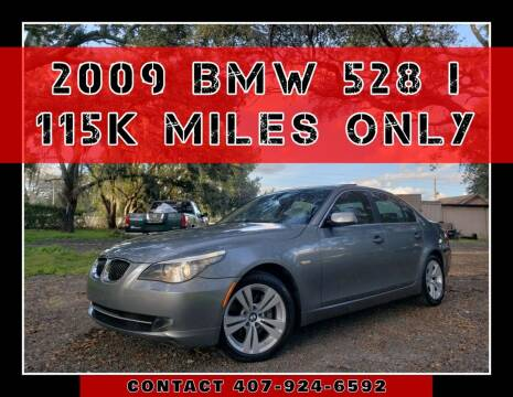 2009 BMW 5 Series for sale at AFFORDABLE ONE LLC in Orlando FL