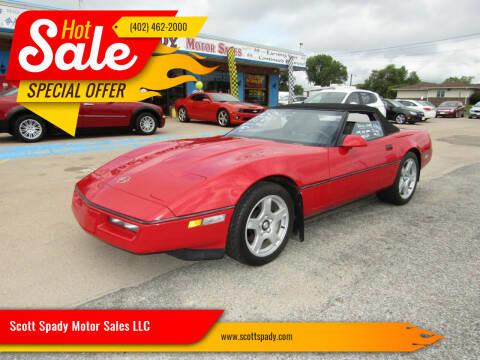 1989 Chevrolet Corvette for sale at Scott Spady Motor Sales LLC in Hastings NE