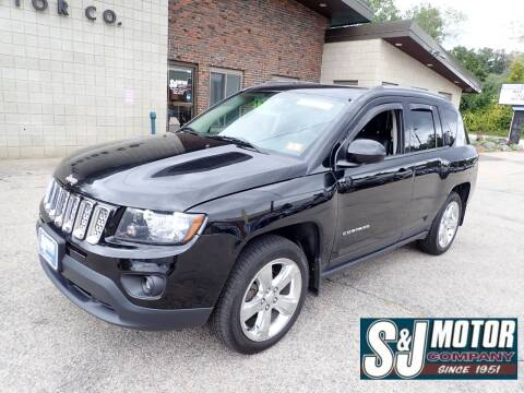 2014 Jeep Compass for sale at S & J Motor Co Inc. in Merrimack NH