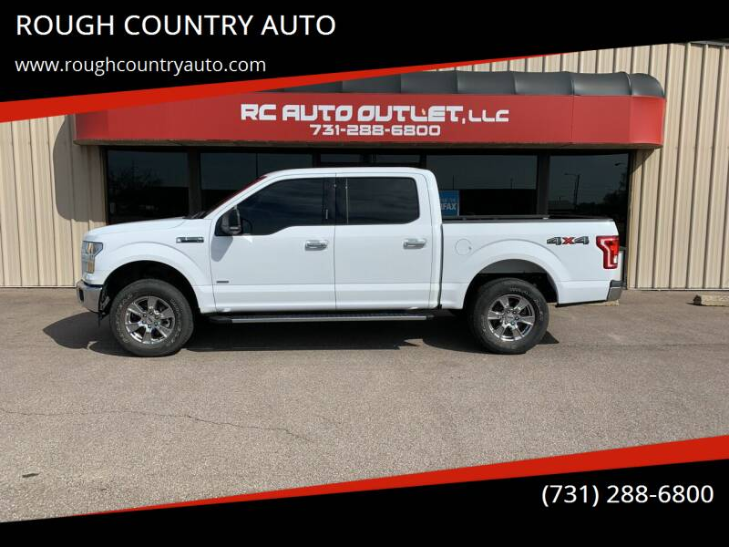 2017 Ford F-150 for sale at ROUGH COUNTRY AUTO in Dyersburg TN