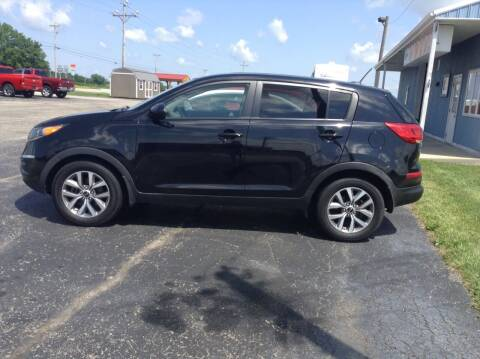 2016 Kia Sportage for sale at Kevin's Motor Sales in Montpelier OH
