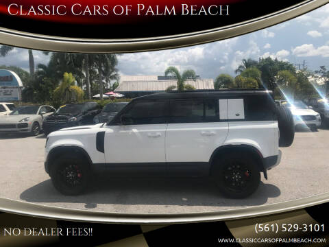 2022 Land Rover Defender for sale at Classic Cars of Palm Beach in Jupiter FL