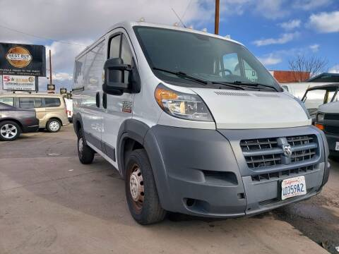 2016 RAM ProMaster Cargo for sale at Best Buy Quality Cars in Bellflower CA