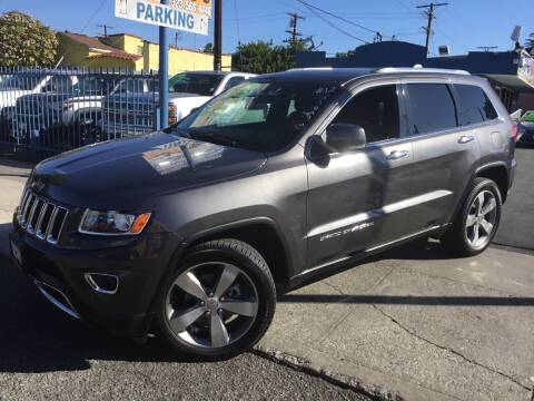 2014 Jeep Grand Cherokee for sale at LA PLAYITA AUTO SALES INC in South Gate CA