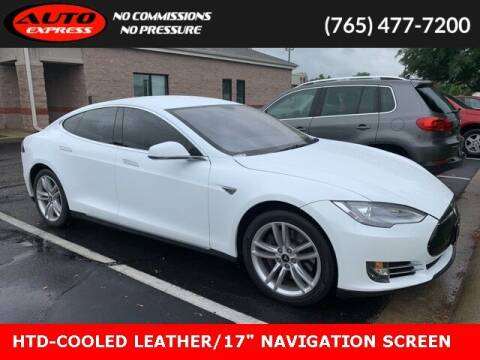 2013 Tesla Model S for sale at Auto Express in Lafayette IN