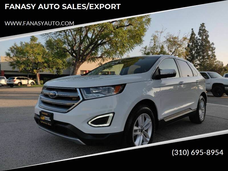 2017 Ford Edge for sale at FANASY AUTO SALES/EXPORT in Yorba Linda CA
