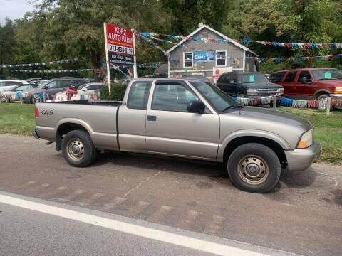 2003 GMC Sonoma for sale at Korz Auto Farm in Kansas City KS