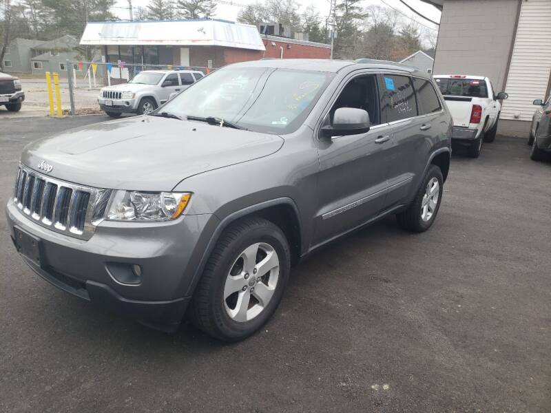 2012 Jeep Grand Cherokee for sale at Topham Automotive Inc. in Middleboro MA