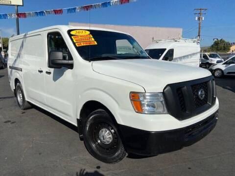 2015 Nissan NV Cargo for sale at Auto Wholesale Company in Santa Ana CA