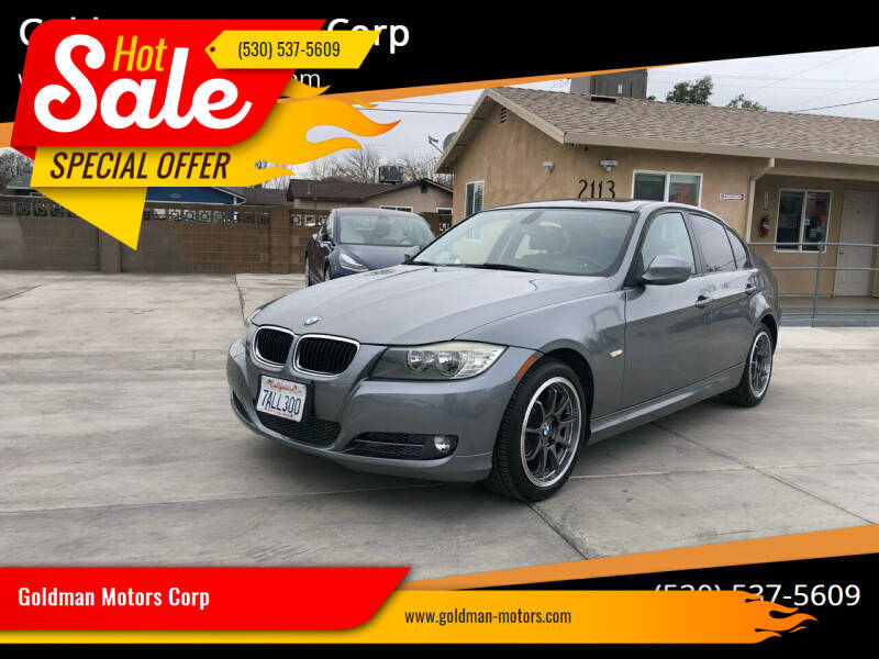 2011 BMW 3 Series for sale at Goldman Motors Corp in Stockton CA
