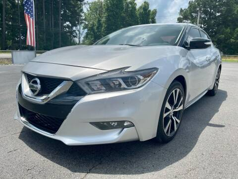 2017 Nissan Maxima for sale at Airbase Auto Sales in Cabot AR