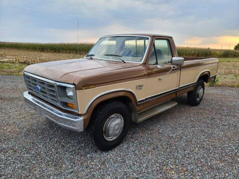 1986 Ford F-250 for sale at Shinkles Auto Sales & Garage in Spencer WI