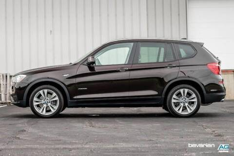 2015 BMW X3 for sale at BAVARIAN AUTOGROUP LLC in Kansas City MO