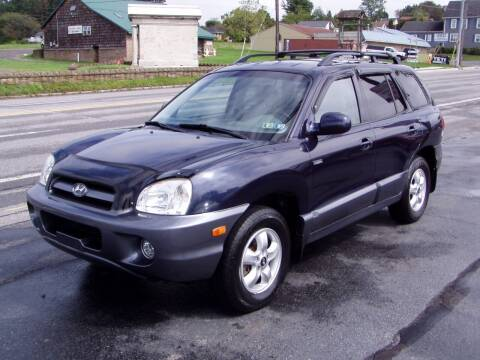 2005 Hyundai Santa Fe for sale at The Autobahn Auto Sales & Service Inc. in Johnstown PA