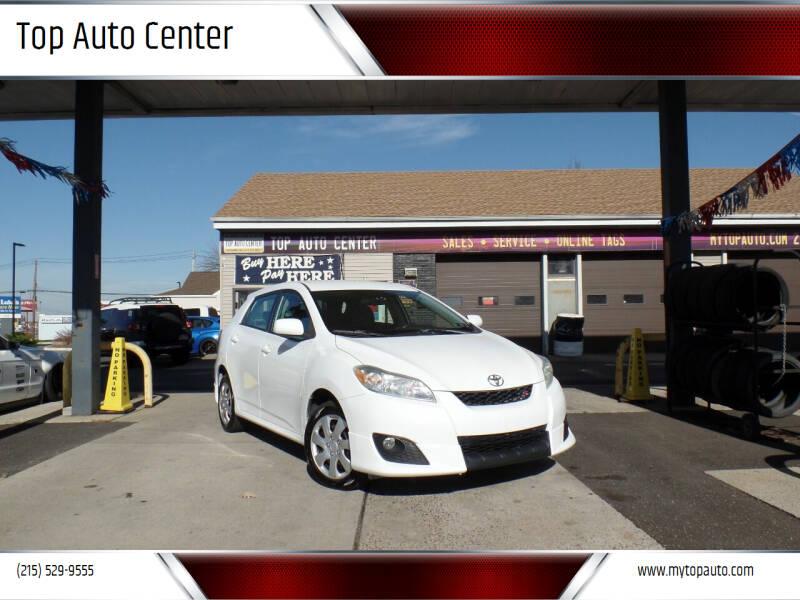 2009 Toyota Matrix for sale at Top Auto Center in Quakertown PA
