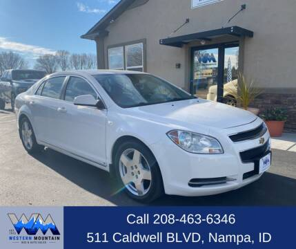 2008 Chevrolet Malibu for sale at Western Mountain Bus & Auto Sales in Nampa ID