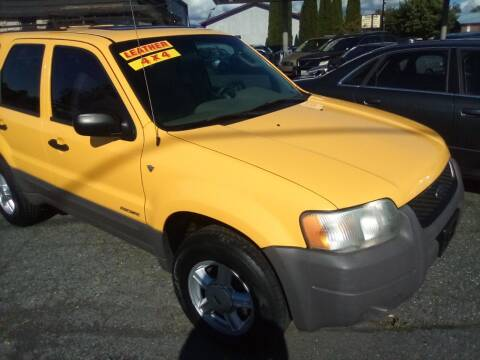 2001 Ford Escape for sale at Payless Car & Truck Sales in Mount Vernon WA