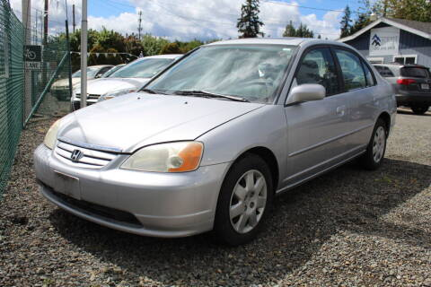 2002 Honda Civic for sale at Summit Auto Sales in Puyallup WA