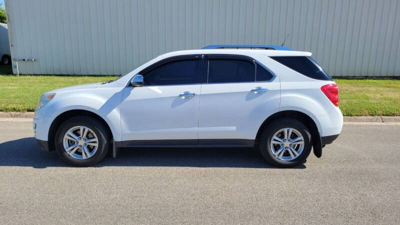 2012 Chevrolet Equinox for sale at TNK Autos in Inman KS