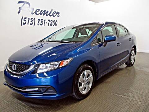 2014 Honda Civic for sale at Premier Automotive Group in Milford OH