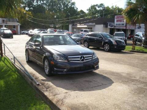 2013 Mercedes-Benz C-Class for sale at Louisiana Imports in Baton Rouge LA