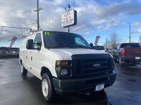 2011 Ford E-Series Cargo for sale at S&S Best Auto Sales LLC in Auburn WA