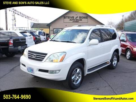 2007 Lexus GX 470 for sale at Steve & Sons Auto Sales in Happy Valley OR