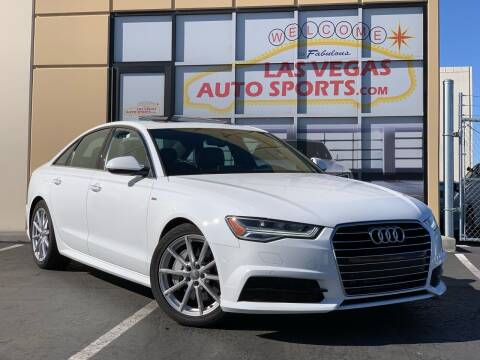 2018 Audi A6 for sale at Las Vegas Auto Sports in Las Vegas NV