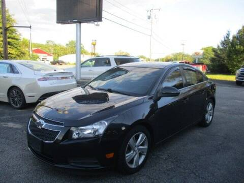 2014 Chevrolet Cruze for sale at Mill Street Motors in Worcester MA