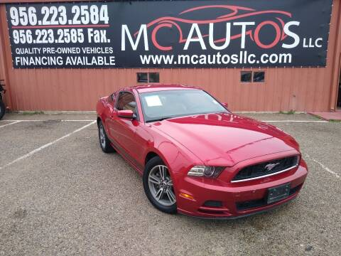 2013 Ford Mustang for sale at MC Autos LLC in Pharr TX