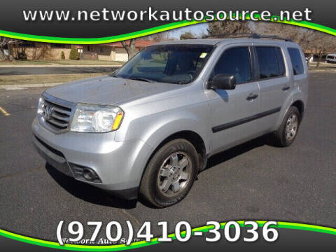 2012 Honda Pilot for sale at Network Auto Source in Loveland CO