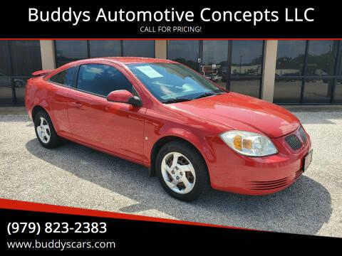 2008 Pontiac G5 for sale at Buddys Automotive Concepts LLC in Bryan TX