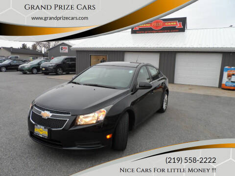 2011 Chevrolet Cruze for sale at Grand Prize Cars in Cedar Lake IN