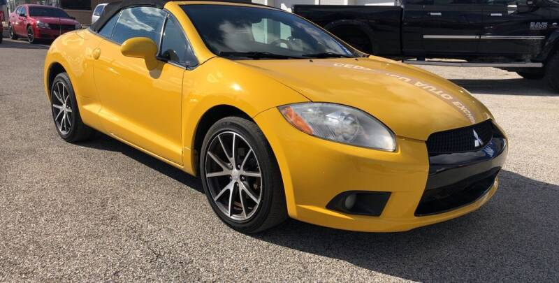 2009 Mitsubishi Eclipse Spyder for sale at Perrys Certified Auto Exchange in Washington IN