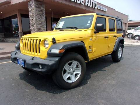 2019 Jeep Wrangler Unlimited for sale at Lakeside Auto Brokers Inc. in Colorado Springs CO