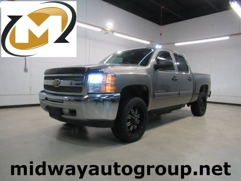 2013 Chevrolet Silverado 1500 for sale at Midway Auto Group in Addison TX