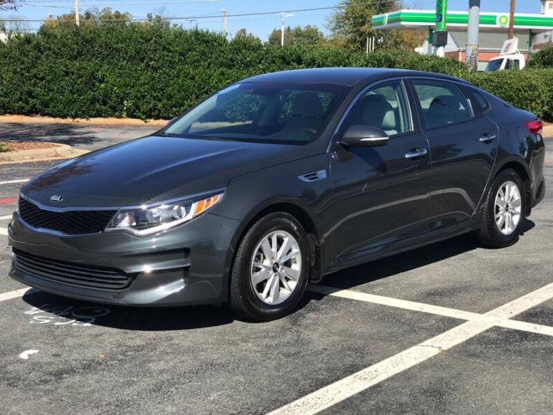 2016 Kia Optima for sale at RUSH AUTO SALES in Burlington NC