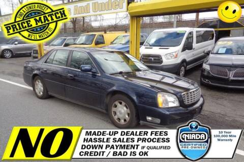 2002 Cadillac DeVille for sale at AUTOFYND in Elmont NY
