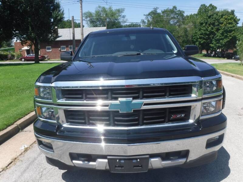 2015 Chevrolet Silverado 1500 for sale at ALL Auto Sales Inc in Saint Louis MO