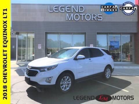 2018 Chevrolet Equinox for sale at Legend Motors of Waterford - Legend Motors of Detroit in Detroit MI