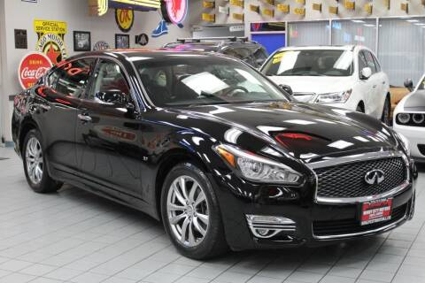2017 Infiniti Q70 for sale at Windy City Motors in Chicago IL