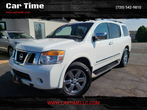 2012 Nissan Armada for sale at Car Time in Denver CO