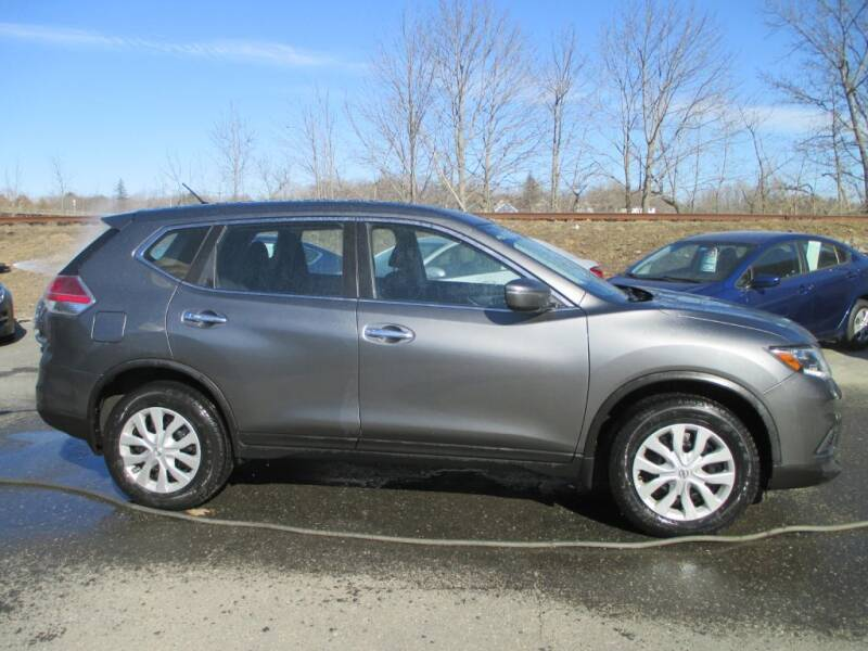 2015 Nissan Rogue for sale at Percy Bailey Auto Sales Inc in Gardiner ME