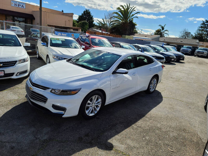 2018 Chevrolet Malibu for sale at Imports Auto Sales & Service in San Leandro CA