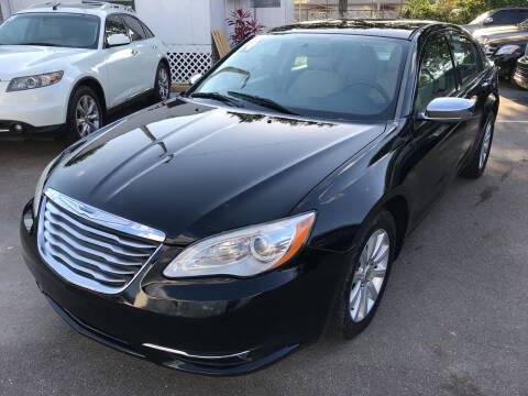 2014 Chrysler 200 for sale at Cartina in Tampa FL